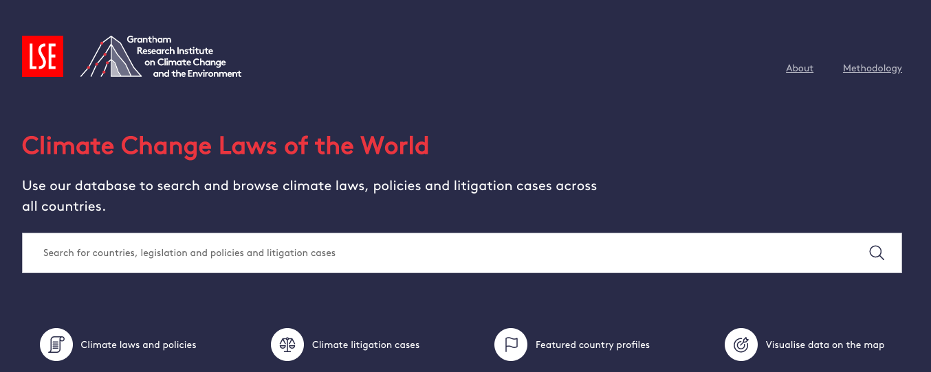 Climate Change Laws of the World
